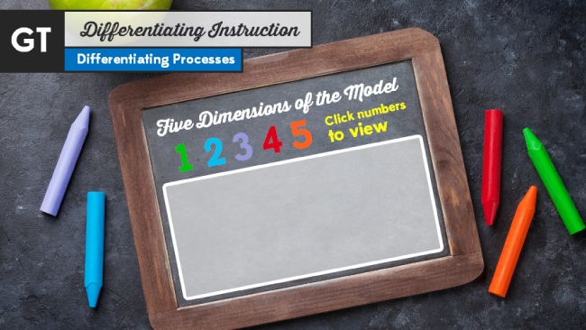 GT Students: Differentiating Instruction Preview 2