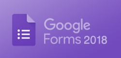 Google Forms 2018